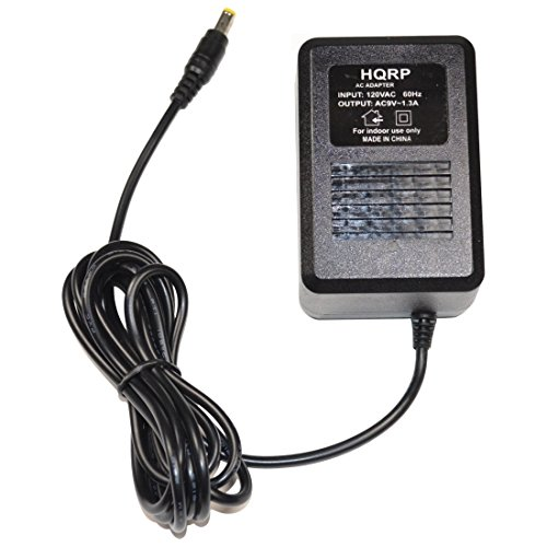 HQRP AC Adapter Compatible with Digitech PS0913B RP200A RP250 RP255 RP350 RP300A RP355 RPx400 RP1000 RP100 RP100A RP150 RP155 VL4 BP200 BP355 Power Supply Cord Transformer
