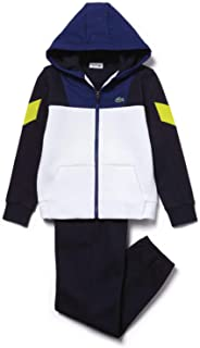 Sport Boys Tracksuit - Blue/White/Yellow Size 8A-8YR