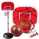 【LR.store】 ミニ バスケットゴール バスケットボールセット バスケットボール バスケ 子供用 高さ調節可能 ボール付き 練習 室内屋外兼用 室内 屋外 誕生日プレゼント クリスマスプレゼント