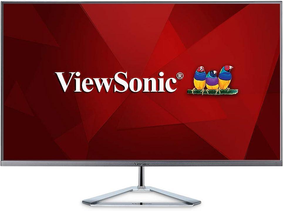 Monitor pc viewsonic vx3276-2k-mhd 32 pollici