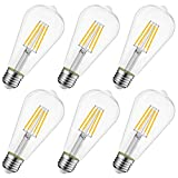 8W Ampoule LED Filament E27 ST64,...