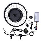 Practical Wheel Electric Bike Conversion Kit,with Brake Levers,with Powerful Controller(Precursor)