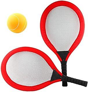 Bestice Set di Racchette da Tennis per Bambini volano Plus 2 Palline Gioco di Badminton per Bambini