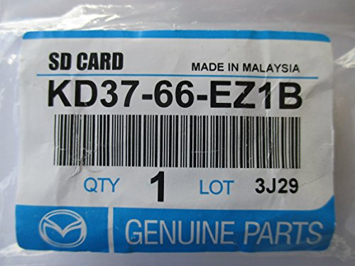MAZDA SD CARD MAP NAVIGATION 2014 UPDATE/US CANADA PUERTO RICO (PART # KD37 66 EZ1B) FITS/13 MAZDA 3/14 15 MAZDA 6 AND 13 14 15 CX-5 CX-9/MAPS BY TOMTOM -  KD37 66 EZ18