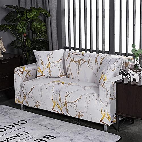 ZFDM Universal-Größe 1/2/3/4 Sitzer-Sofa-Abdeckung Stretch-Elastizität SEAT-COUK-COUTS-Coupe SPREET Eck Sofa Couch Cover Single Lovesat (Color : K759, Specification : 2xPillowcase 45x45cm)