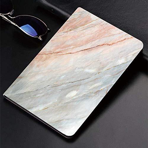 Funda para iPad (24.638, modelo 2018/2017, 6.a / 5.a generación) Funda inteligente ultradelgada y ligera, mármol, piedra ónix Textura natural Destacados Arañazos auténticos Artful Illu, fundas intelig