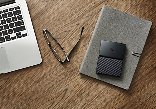 WD My Passport for MAC with TypeC Cable 2TB, schwarz