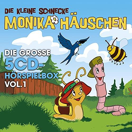 Monika Häuschen - Die gr. 5-CD Hörspielbox Vol. 1