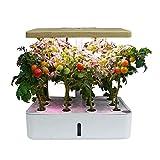 YEHEI Sistema De Cultivo Hidropónico, Kit De Cultivo Interior Smart Garden, Kit De Inicio De Jardín De Hierbas para Interiores con Luz De Crecimiento LED, Altura Ajustable