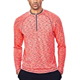Men's Tech Quarter Zip Pullover Lightweight...
