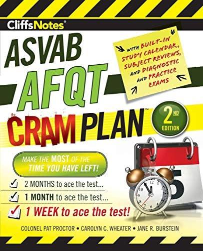 CliffsNotes ASVAB AFQT Cram Plan 2nd Edition product image