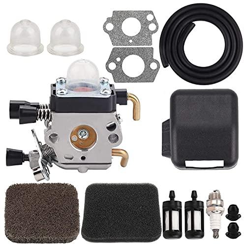 Top! -Fs85 Vergaser + Luftfilterabdeckung für STIHL FS75 FS80 FS 85 km80 km85 FC75 String Trimmer Pinsel Cutter Tune Tune Kits Ersatzteile für Rasenmäher