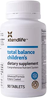 Xtend-Life Total Balance Children's Multivitamin - Kids Daily Supplement w/Vitamin C, D3, & Calcium - Supports Your Child'...
