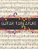 Guitar Tablature: Songwriting Notebook for Compositions on the Guitar - Inspirational Chords and Tabs