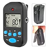Luvay Digital Metronome - Mini Portable, Multifunctional, Clip on, Beat Tempo - with Battery for...