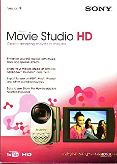 Vegas Movie Studio HD Version 9