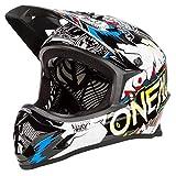 O'Neal Oneal Backflip RL2 Villain Casco Bicicleta, Blanco, M