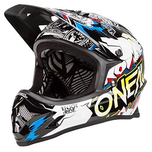 ONeal Oneal Backflip RL2 Villain Casco Bicicleta, Blanco, M
