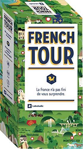 French Tour – Juego de Cartas ilustradas para Descubrir Francia en 66 Pasos – Juegos de Mesa – Familia y niño