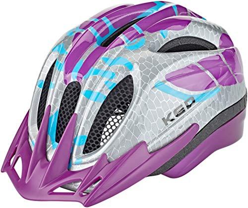KED Meggy K-Star Helm Kinder Violet Kopfumfang M | 52-58cm 2020 Fahrradhelm
