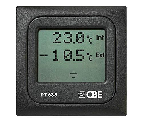CBE PT638 Digitales Thermometer, für Innen- und Außenbereich, Wohnmobil