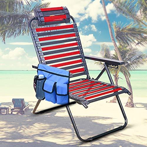 Aufbewahrungstasche für Reisen, Schulter-Seitentasche für Camping, Stuhl-Organizer Hängende Aufbewahrungstasche für Handys, Kameras, Tablets(Blue)