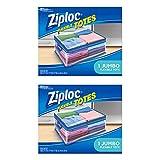 Ziploc Flexible Totes, Jumbo, 1 ct - 2 Pack