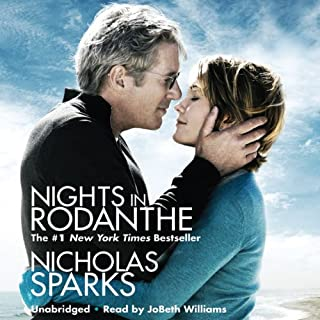 Nights in Rodanthe                   By:                                                                                                                                 Nicholas Sparks                               Narrated by:                                                                                                                                 JoBeth Williams                      Length: 5 hrs and 23 mins     501 ratings     Overall 4.1