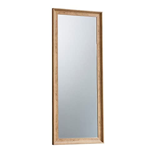 Large Wooden Mirror Amazoncouk