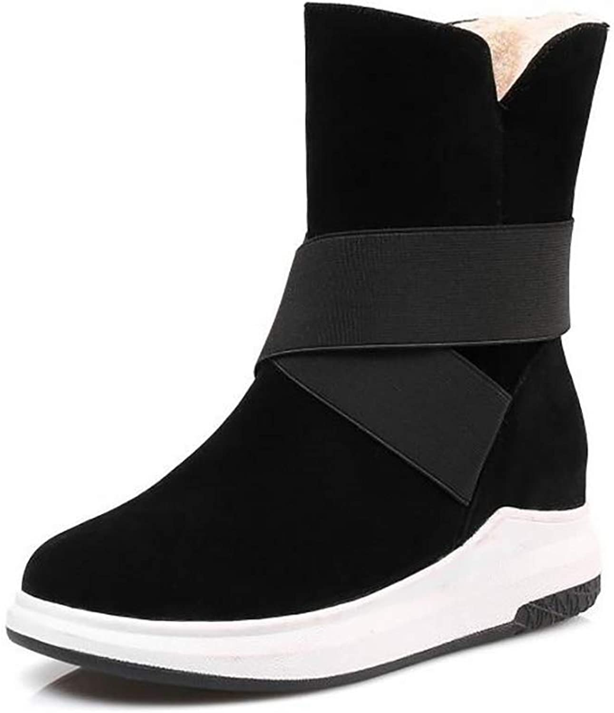 Hy Hy Hy Woherren Stiefelies Winter Flache Comfort Winterstiefel Warme Stiefel Damen Wild Snow Stiefel Stiefel Fashion Stiefelies Student Slip-Ons Outdoor Wanderschuhe (Farbe   C, Größe   40)  b49521