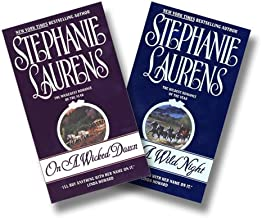 Stephanie Laurens, Cynster Two Book Set:  On a Wicked Dawn, On a Wild Night