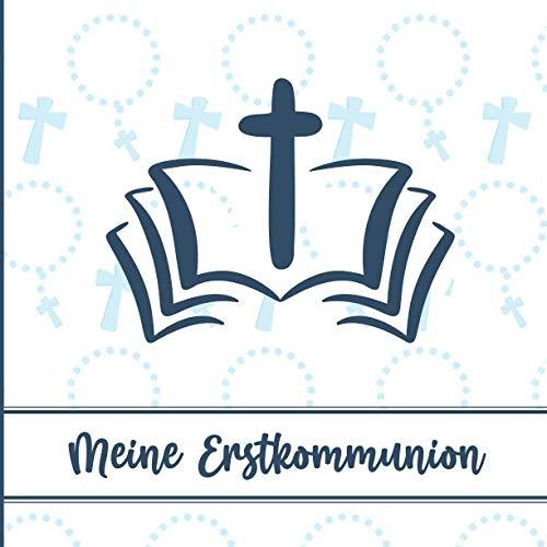 Gästebuch Kommunion: Erinnerungsalbum zum Eintragen für Jungen   Erinnerungsbuch für...
