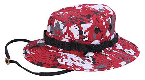 Rothco Boonie Hat Red Digital Camo Größe 7