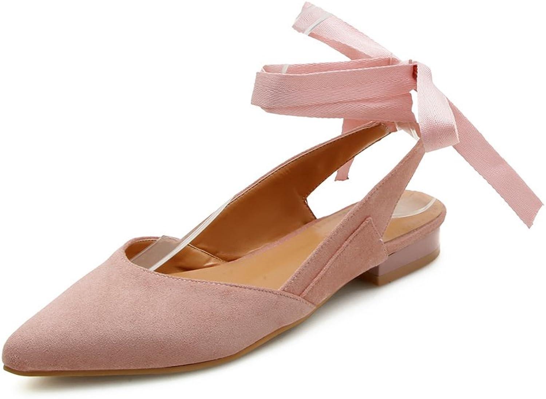 GAOLIM Summer Women shoes Scrub Foot Ring Strap Tip Light Port Is Empty Flat Sandals Female Summer Trend.