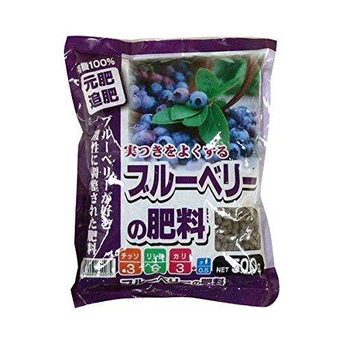 あかぎ園芸 ブルーベリーの肥料 500g 30袋 (4939091740075)【同梱・代引不可】