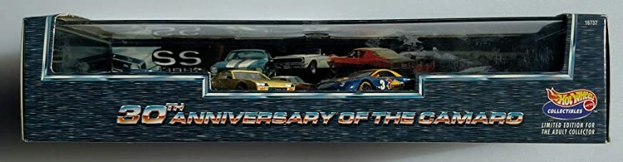 ダイバー教えペストリーHot Wheels 30th anniversary of the Camaro 4 car set