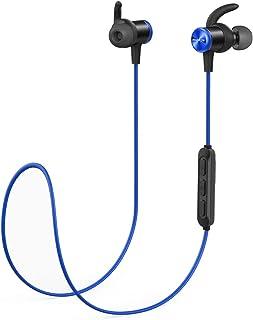 Anker SoundCore Spirit Kablosuz Bluetooth 5.0 Spor Kulaklık, IPX7 Suya Dayanıklı, Siyah/Mavi