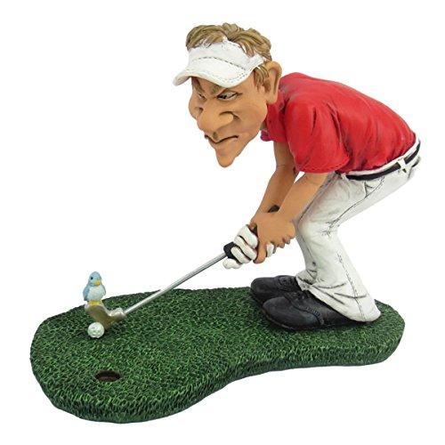 Joh.Vogler GmbH Funny Sports - Golfer b. Birdie Vogel sitzt auf Golfball
