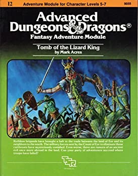 I2 Tomb of the Lizard King - Book  of the Advanced Dungeons and Dragons Module #C4