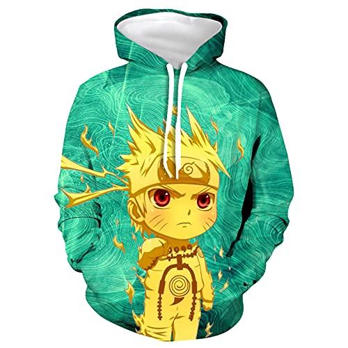 Qnoon Boys/girls/Kids/Teens/Youth Anime Cool 3D Printed Fashion Hoodie Long Sleeve Sweatshirt Sweater Small