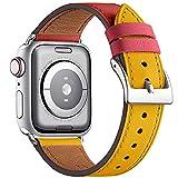 WFEAGL コンパチブル Apple Watch バンド,は本革レザーを使い、iWatch SE、 Series 6/5/4/3/2/1、Sport、Edition向けのバンド交換ストラップです コンパチブル アップルウォッチ バンド