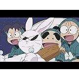 月ウサギがクレーターをかけるの段