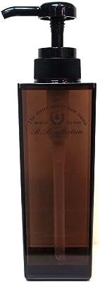 センコー B.B.collection スリムボトル ソープボトル ブラウン 約5.7×5.7×高21.2cm(容量:約300ml) 74409