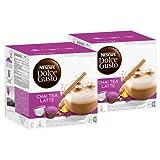 Nescafé Dolce Gusto Chai Tea Latte, Paquete de 2, 2 x 16 Cápsulas (16 Tazas)