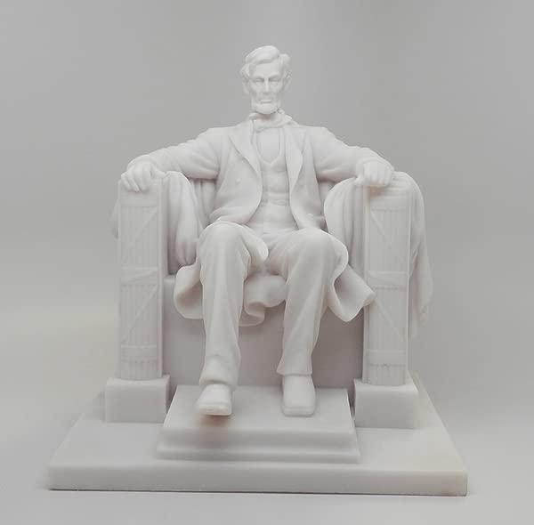 PTC 8 25 Inch Abraham Lincoln National Memorial Replica Figurine