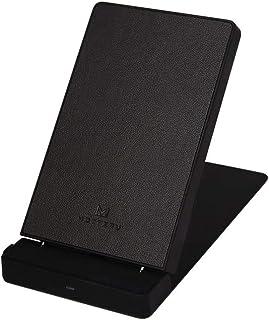 MOTTERU (モッテル) ワイヤレス充電器 スタンド Qi 10W iPhone 7.5W 対応 縦置横置き可能 角度調整 iPhone12 / 12Pro / 12Pro Max/android/スマホ/ワイヤレスイヤホン 対応 ダブルコ...