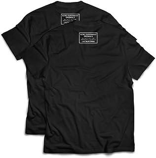 NORD EXPERIMENT ORIGINALS ヘビーウェイト半袖Tシャツ 2枚組 スタンプ メンズ GYMCROSS ジムクロス neo-008