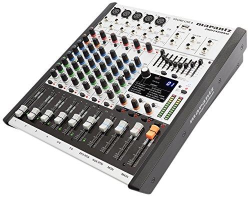 Marantz Professional SoundLive8 Professionelles 8-Kanal 2-Bus Mischpult