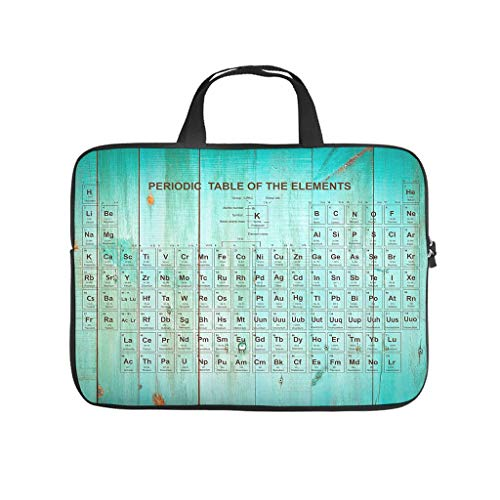 Periodic Table Laptop Sleeve Case Gifts for Men Women White 13inch