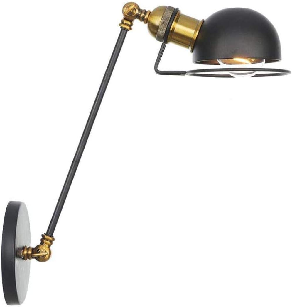 Lámpara de Brazo Ajustable Lámpara de Pared Extensible Retro Pasillo del Pasillo Lámpara de Pared de Brazo Largo Antigüedad Industrial Retro Loft rústico Iluminación de Pared H Uptodate